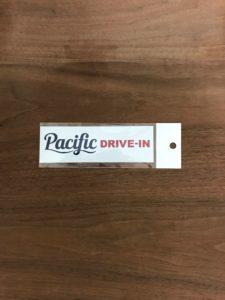 【ステッカーA】パシフィックドライブイン(Pacific DRIVE-IN)